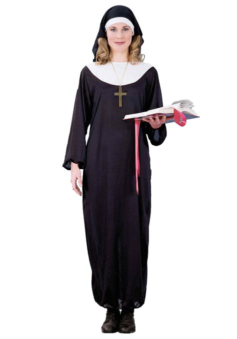 halloween costumes adult nun costume