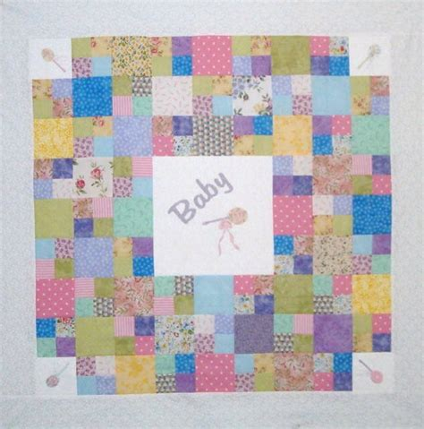 Baby Quilt Patterns Free by Shawkl Free Baby Blanket Pattern
