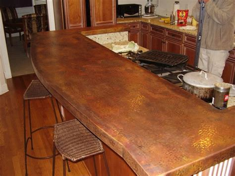 Bar Counter Tops by Best 25 Copper Countertops Ideas On Counter