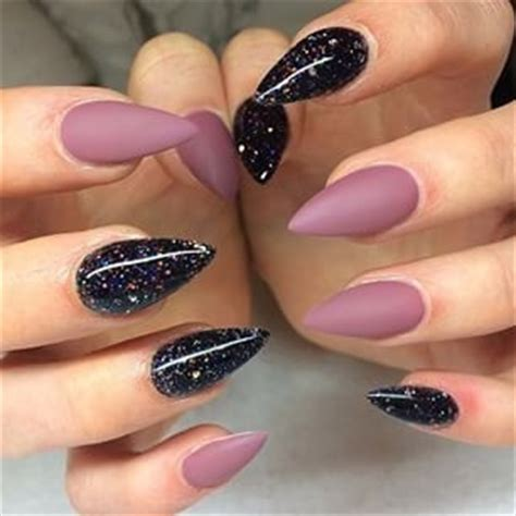 nail art latest glamourcom mauve and silver matte glamour nail design 2016 fashionte