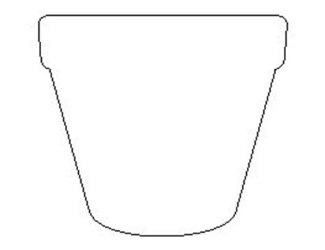 flower pot template flower pots tangle doodle and pots on