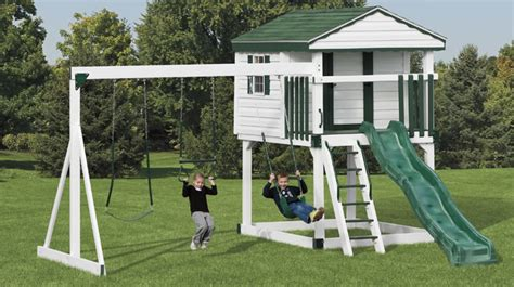 swing sets york pa vinyl swing sets new york swingsets maintenance free