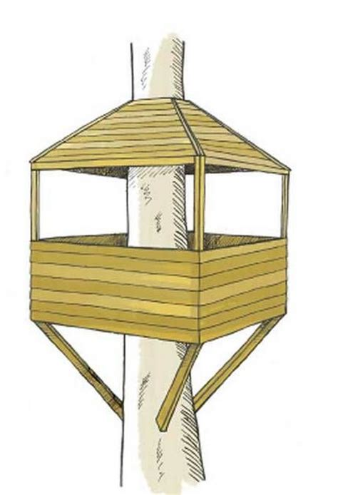 tree house designs simple best 25 simple tree house ideas on pinterest