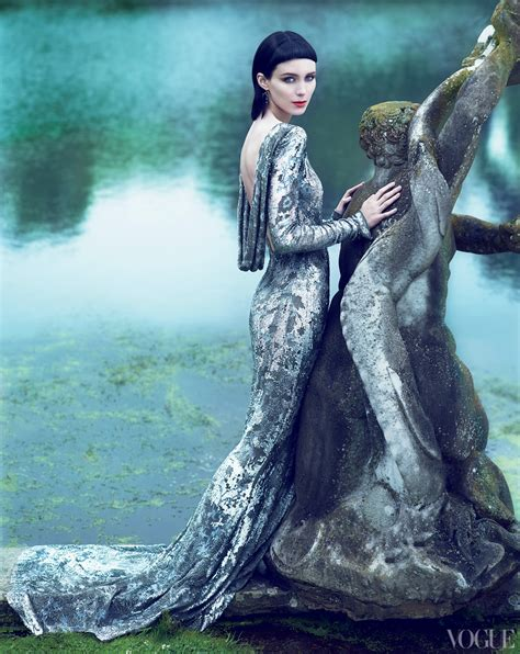 themes the girl with the dragon tattoo editorial rooney mara by mert alas and marcus piggott for