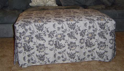 how to sew a slipcover for an ottoman slipcover knights who say knit