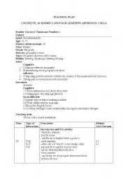teaching worksheets lesson plans