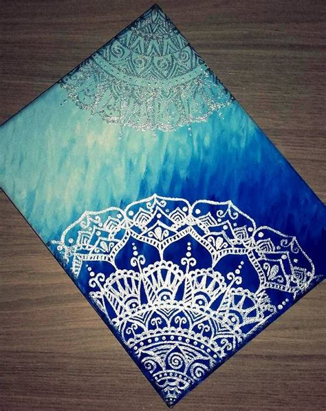 artist canvas pattern one of my first canvas paintings mandala canvas painting