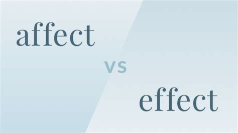 affects meaning affect vs effect video merriam webster