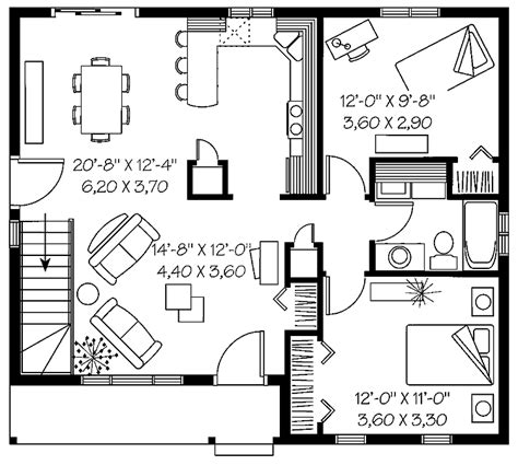 two bedroom house floor plans house plans home plans floor plans and home building