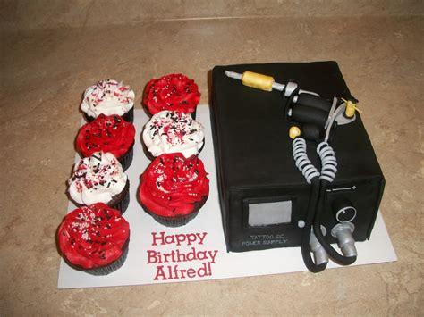 tattoo gun birthday cake tattoo machine gun cake cakecentral com