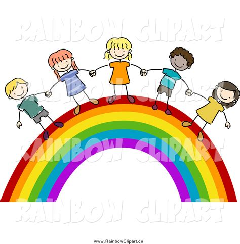 rainbow children the art 1616558334 half rainbow clipart clipart panda free clipart images