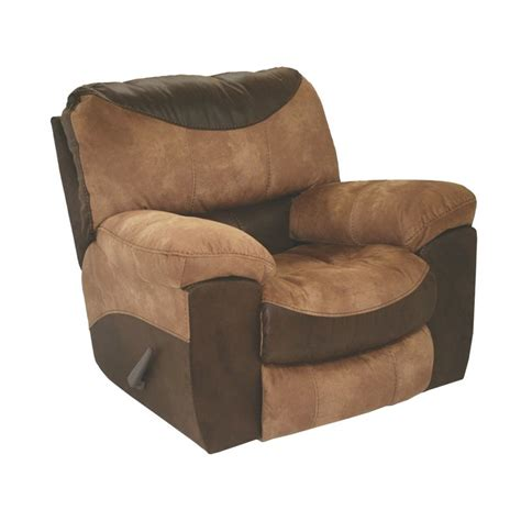 catnapper portman chaise rocker recliner chair in saddle