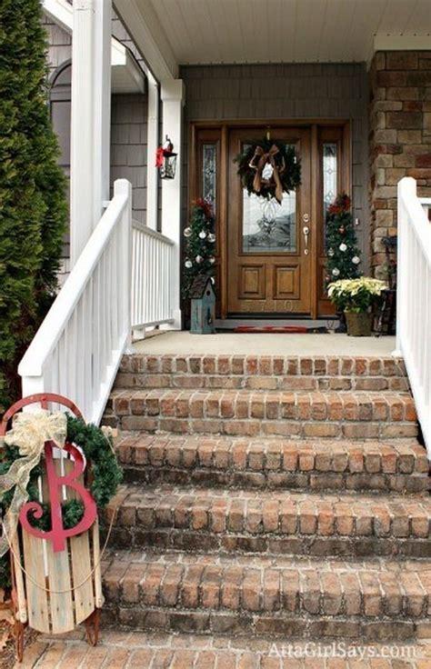 Front Porch Christmas Decor awesome porch christmas decor ideas