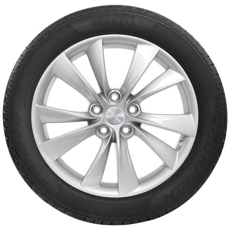 The Wheel Of tesla 19 quot cyclone wheel and winter tire package