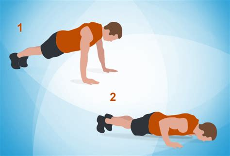 Bench Floor Press The 7 Minute Workout In Pictures