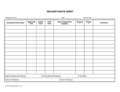 driver daily log sheet template business forms