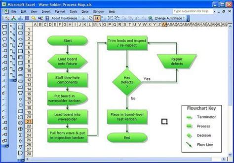 flow chart software free t 233 l 233 charger flowbreeze standard flowchart software pour