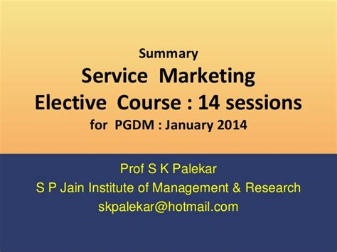 s day synopsis last day summary credit services marketing course