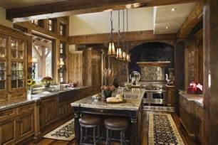 Rustic Kitchen Designs by Rustic House Design In Western Style Ontario Residence