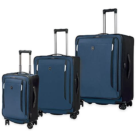 bed bath and beyond suitcases victorinox 174 werks 5 0 luggage collection bed bath beyond