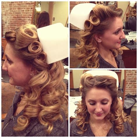 hairstyles for nursing graduation retro nurse pinup ideas for tomorrow s shoot beauty in