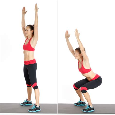 Overhead Swing by 10 To 1 Bodyweight Workout Popsugar Fitness