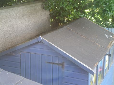 Felt On Shed Roof by Re Felt Shed Roof Garages Sheds In Plymouth