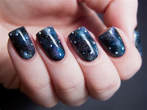 Galaxy Nail Design