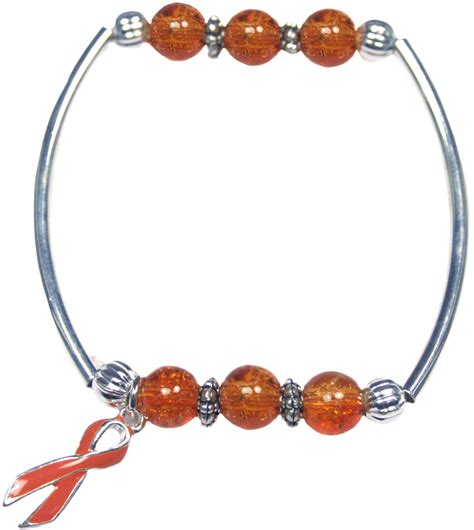 leukemia together bracelet orange awarenessdepot