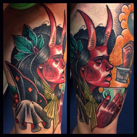 succubus tattoo praying succubus by panas bartosz best