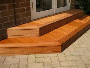 patio steps wood decking steps on behance