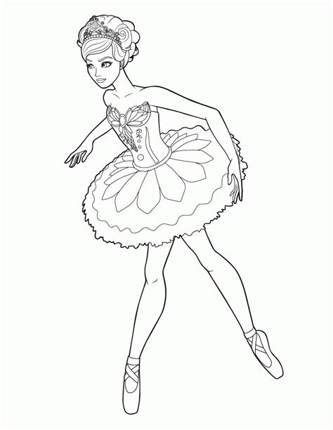 coloring pages ballerina princess ballet coloring pages for free coloring home