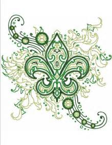 Fleur De Lis Dishes Fleur De Lis Fashion Machine Embroidery Designs By Sew Swell