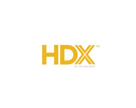 home depot hdx product line logo design ocreations a