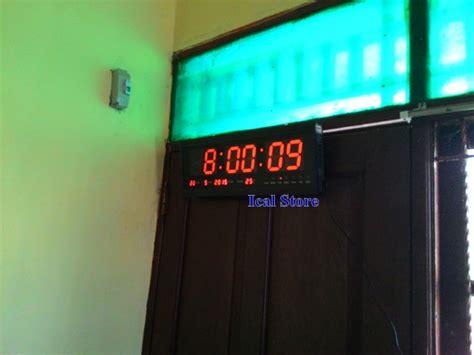 Jam Digital 36x15x2 5cm Jam Dinding Jam Kantor jam dinding digital besar ht 4819 sm ical store ical store