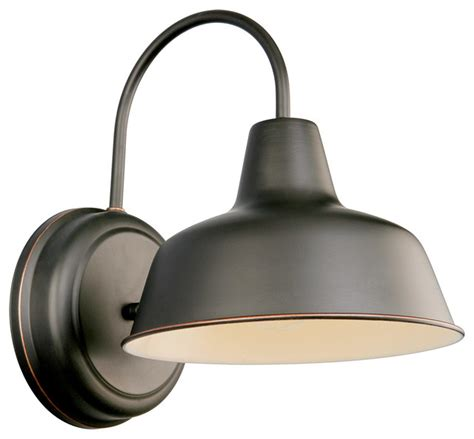 Industrial Outdoor Lighting Fixtures Wall Mount Rubbed Bronze Industrial Outdoor Wall Lights And Sconces
