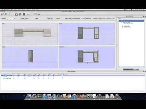 sketchlist  woodworking design software  mac youtube