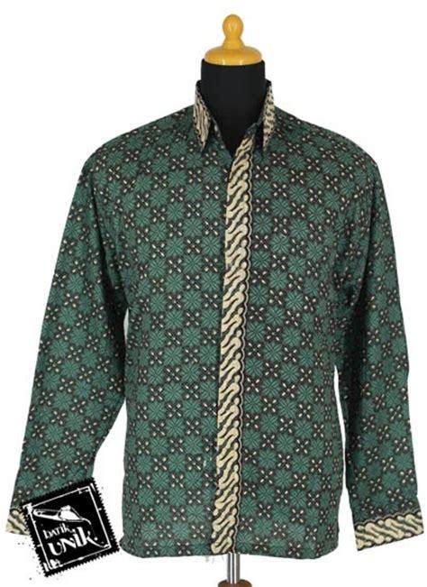 Kemeja Batik Lengan Panjang Parang M881 baju batik kemeja panjang motif parang belimbing kemeja panjang murah batikunik