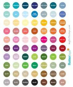 color descriptions 1000 images about colour descriptions on