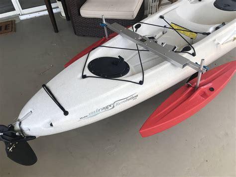 hd kayak stabilizer floats complete package spring creek