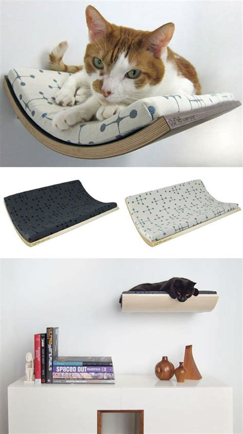 diy cat beds diy wall hanging cat bed designs