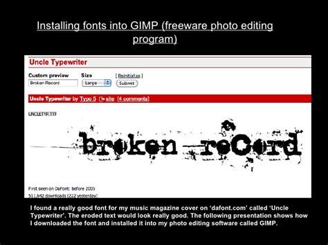 dafont gimp installing fonts in gimp