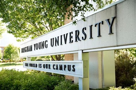 Byu Executive Mba Tuition by Brigham Ranked 75th Best College