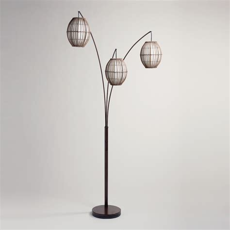 Grey Dining Room Table by Tiki Arc Spheres Floor Lamp World Market