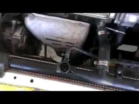 geo prizm radiator replacement youtube