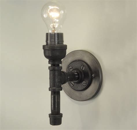 industrial wall sconce light collections gt pipe fittings
