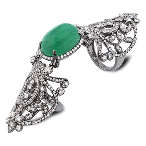 experience royalty in reale jewelry hinged emerald