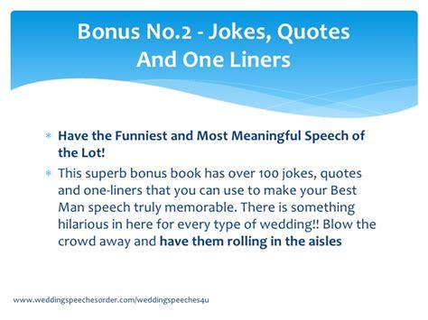 best speeches jokes best toast