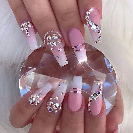 long pattern nails nail designs for long nails 2018