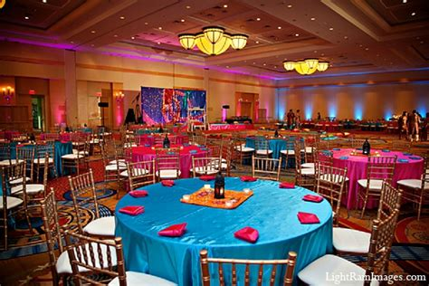 Indian wedding sangeet decor venue in Phoenix, Arizona Indian Wedding by LightRain Images